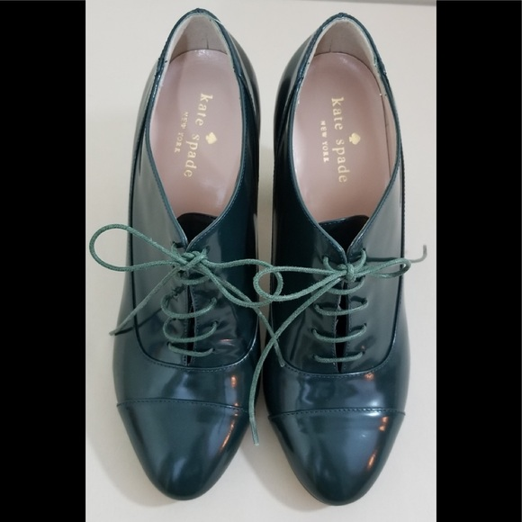 698471ee0d62 kate spade Shoes - Vero Cuoio Italy Women s Dark Green Ankle Boots